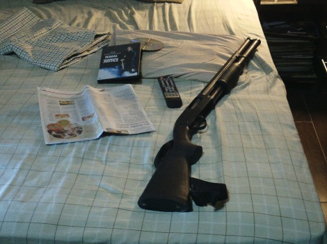 Many homeowners sleep soundly with a shotgun at their bedside.