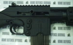 KelTec SU22 close up