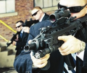 CQB ready: Military and police operators as well as VIP security men may have use for select fire on their RONI-Glock combos. However, private citizens have few practical uses for this feature. (Photo courtesy of CAA)
