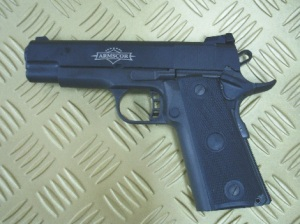 TCM Commander: Also to be unveiled is this mid-sized version of the popular TCM pistol. It comes with a 4.25 inch barrel.