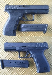 Tara TM-9: This is a well-built, no-nonsense 9mm Luger (Para) pistol from the Republic of Montenegro. It boasts modern features like an ambidextrous magazine release and inter-changeable back straps. (Photos by IGG)