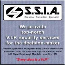 SSIA VIP Security