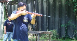 A Ruger 10/22 clone, Armscor's M22 appears to be a robust .22 carbine at a reasonable price. (Photo by IGG)