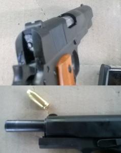 GI .45 front & rear sights
